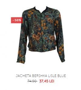 jacheta bershka imprimeu floral