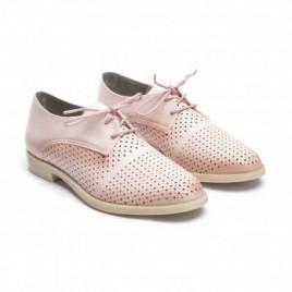 Pantofi cu siret Camino Roz 2