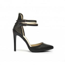 Sandale perforate Kat Negre