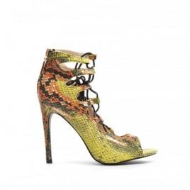 Sandale cu siret Tigo Galbene