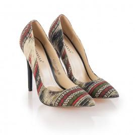 Pantofi dama negri stiletto Mora