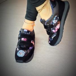 pantofi sport bastet imprimeu floral