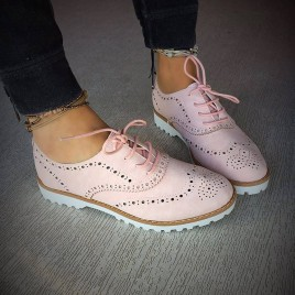 Pantofi Casual Delta Roz