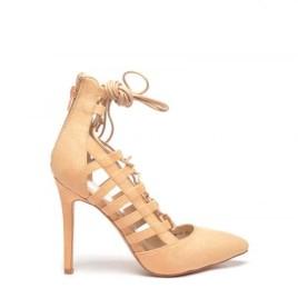 sandale texan cu snur pe picior