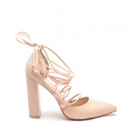 Pantofi Fivel Bej
