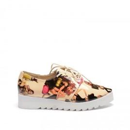 Pantofi Casual Stalon Bej