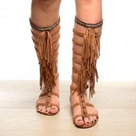 Sandale Gladiator Camel