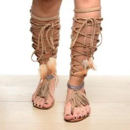 Sandale Amazon Bej