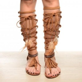 Sandale Amazon Camel