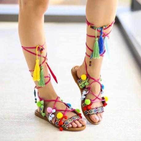Sandale Gato Roz