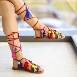 Sandale Gato Rosii