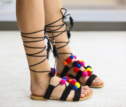 Sandale Lobel Negre