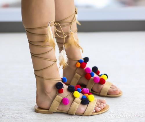 Sandale Lobel Bej