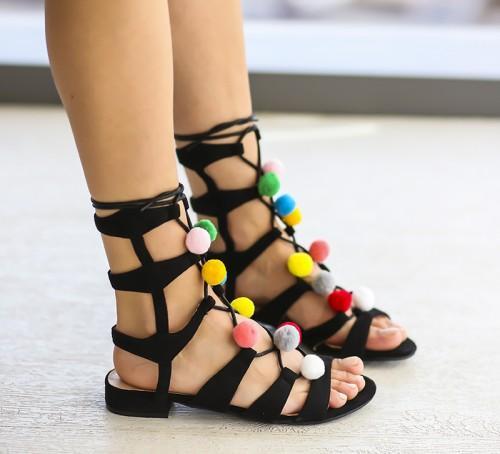 Sandale Cotac Negre