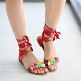 Sandale Polo Rosii