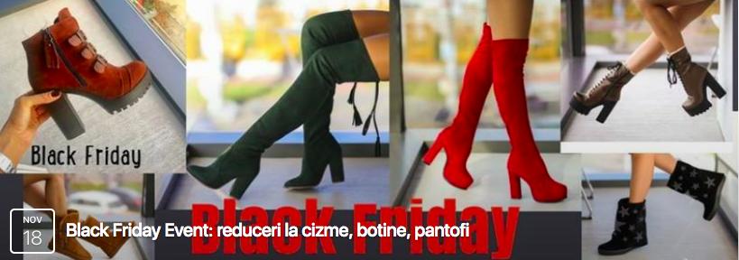 reduceri promotii black friday cizme botine ieftine online
