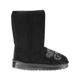 Cizme tip UGG Lucy negre