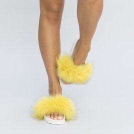 Papuci Barsa Galbeni