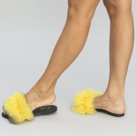 Papuci Juve Galbeni