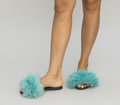Papuci Juve Turcoaz 1