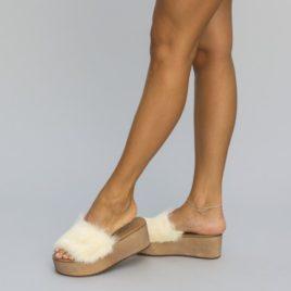Papuci Oldis Albi