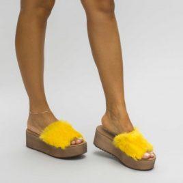 Papuci Oldis Galbeni