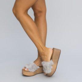 Papuci Oldis Gri
