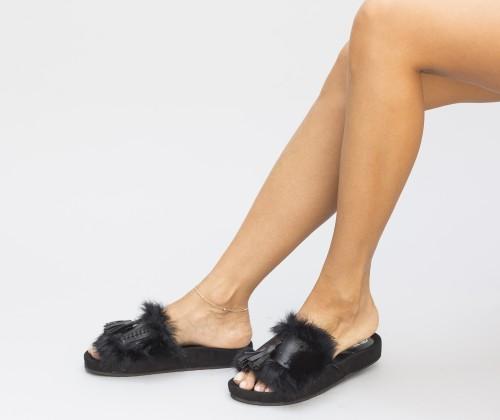 Papuci Pufino Negri 1