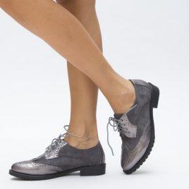 Pantofi Casual Engi Gri
