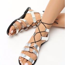Sandale Lola Argintii