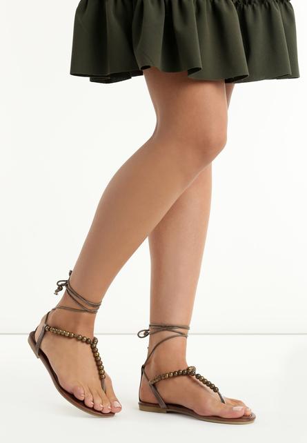 Sandale joase Karine Bronze 1