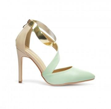 sandale anes verzi