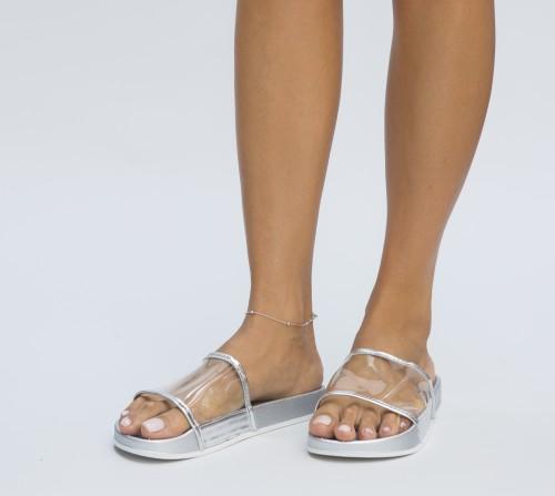 Papuci Bimbo Argintii