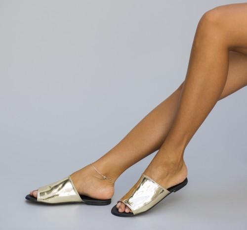 Papuci Cranck Aurii