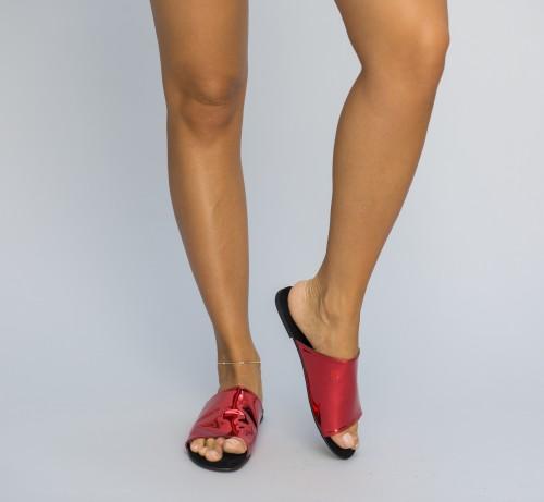 Papuci Cranck Rosii