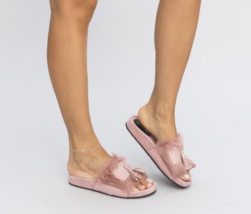 Papuci Pufino Roz