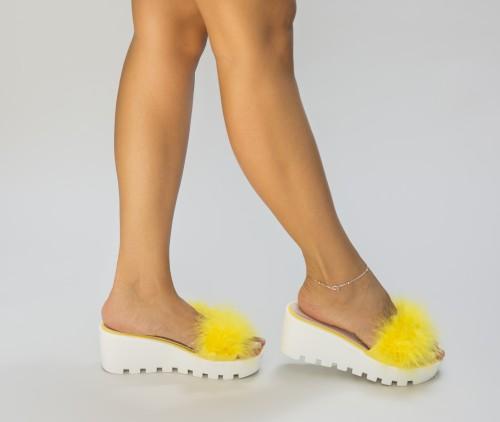 Papuci Simso Galbeni