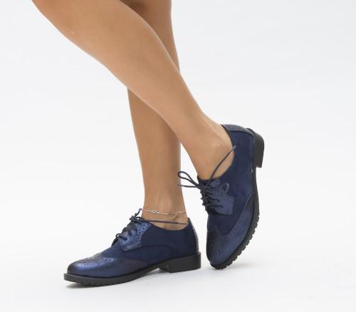Pantofi Casual Engi Bleumarin