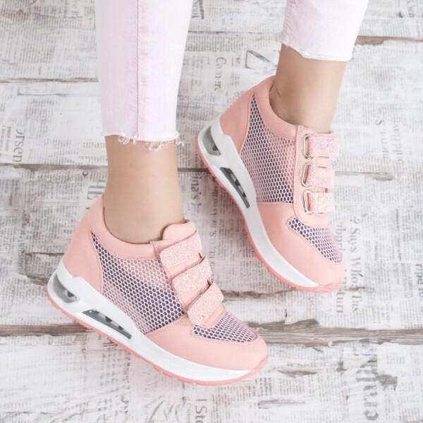 sneakers dama timenis roz
