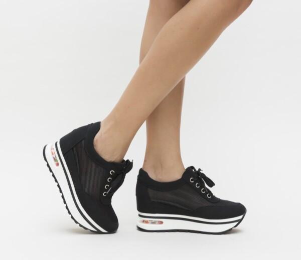 sneakers vela negri