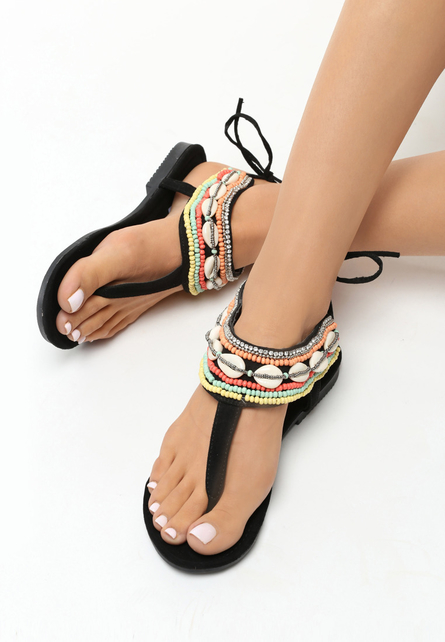 Sandale dama Annikki Negre