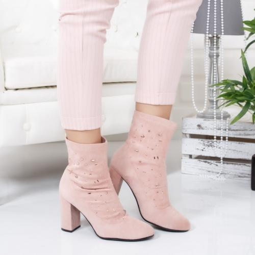 Botine Aldomi roz