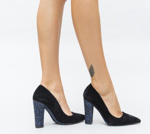 Pantofi Mable Albastri