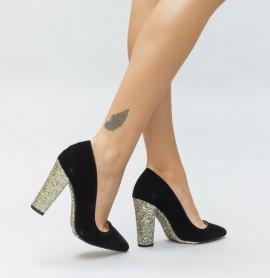 Pantofi Mable Aurii