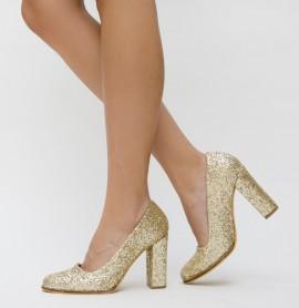 Pantofi Rimes Aurii