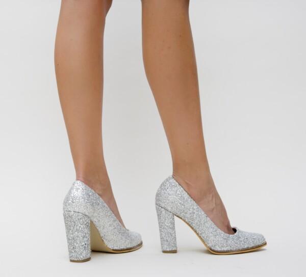 Pantofi Rimes Argintii