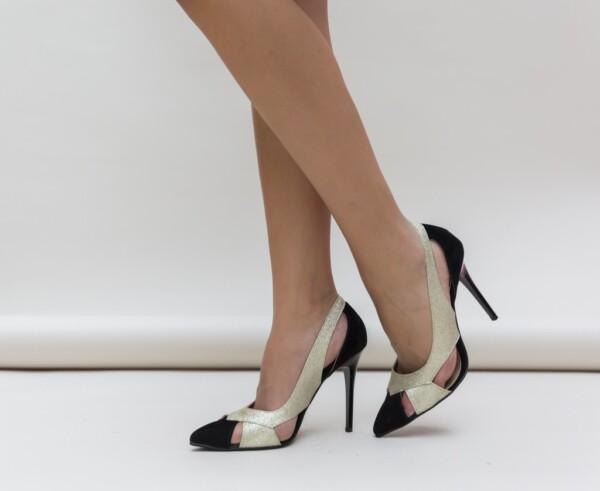 Pantofi Janin Aurii