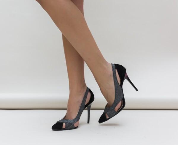 Pantofi Janin Gri