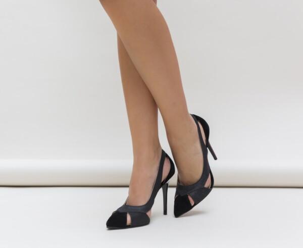 Pantofi Janin Negri