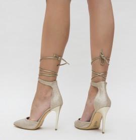 Pantofi Pasio Aurii